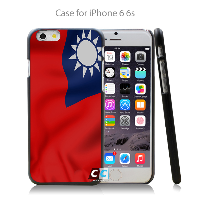 taiwan bright flag Hard Black Case Cover Shell Coque for iPhone 4 4s 4g 5 5s 5g 5c 6 6g 6 Plus(China (Mainland))