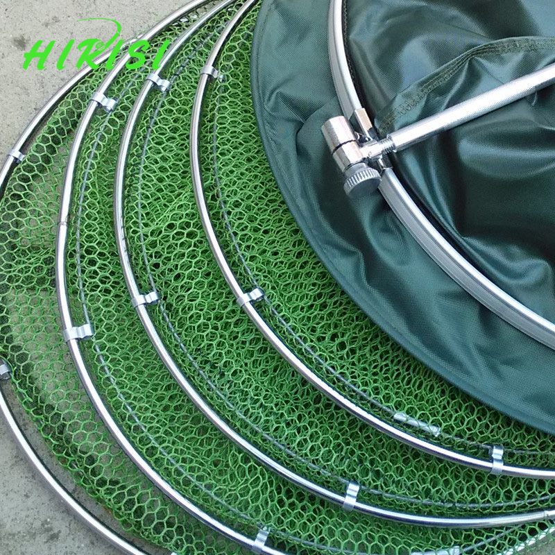 Fishing keep net collapsible fish net 5 layer fish 39 s cage for Collapsible fishing net