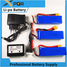 Buy Newest 2/3pcs Cheerson CX-20 CX20 11.1V 2800mah 30C Li-po Battery Charger CX 20 RC Quadcopter Spare Parts Max Rate Toys for $50.88 in AliExpress store