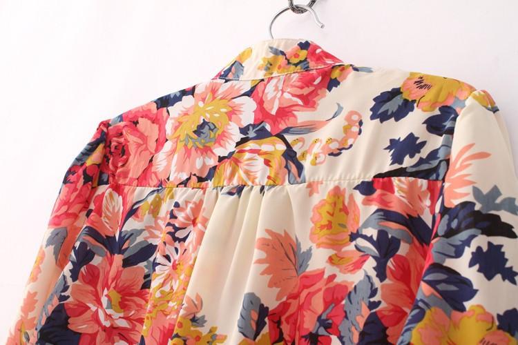 Блузки С Цветочным Принтом В Самаре