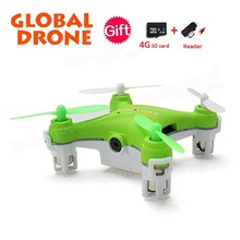 Original GW009C 2.4G 4 Channel 6-Axis Gyro Mini Drone Hexacopter with CF Mode One Key Return RTF RC Quadcopter 0.3MP Camera