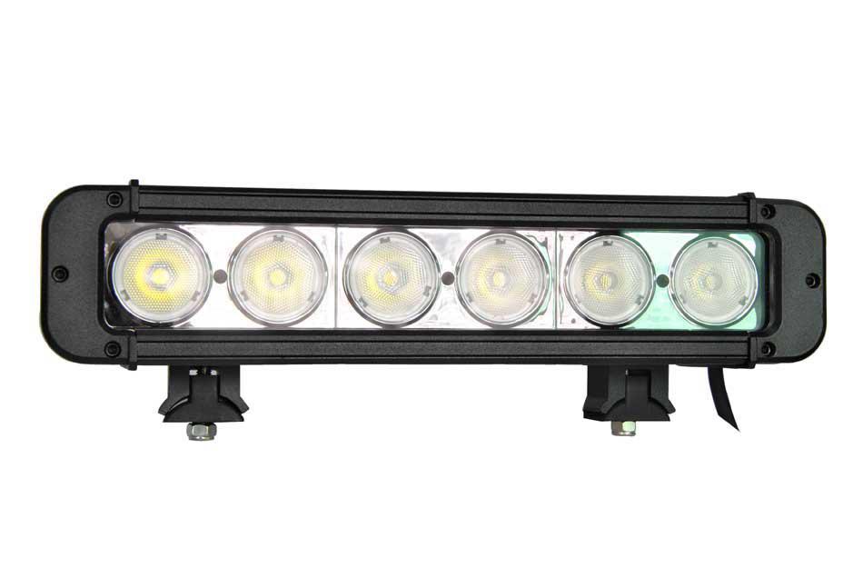 60w cree led work light bar flood spot offroad lamp in. Black Bedroom Furniture Sets. Home Design Ideas