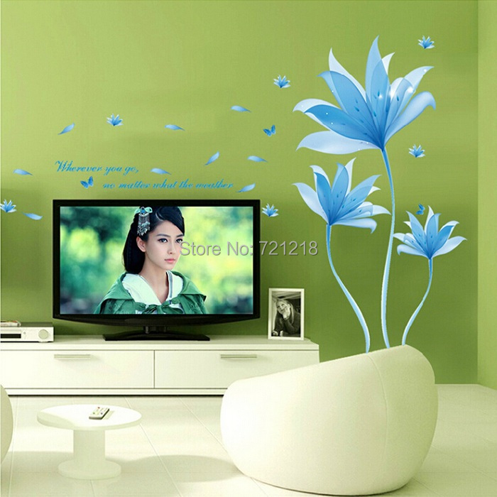 large flower wall stickers vinyl wall decals for living large sunflower wall stickers for living rooms