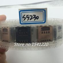 Sim Card Reader Slot For Samsung Galaxy s5230 I997 50 pcs free shipping(China (Mainland))