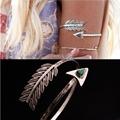 New Fashion Bohemian Ethnic Upper Arm Bracelet Vintage Arrow Open Bangle Bracelet For Woimen Armlet Arm