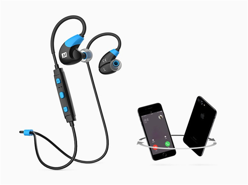 Big Sale MEE Audio X7 Stereo Wireless Headphones Sports Running In-Ear HD Bluetooth 4.1 Earphones With Mic Calls Control Headset