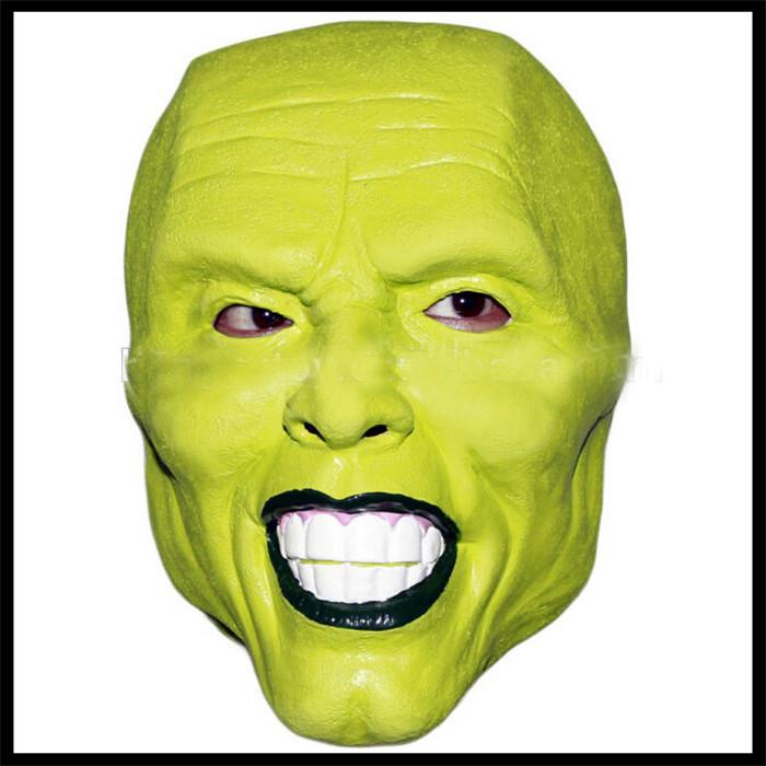 Halloween party cosplay details loki latex mask jim carrey costume fancy dress famous movie film - Masque halloween film ...