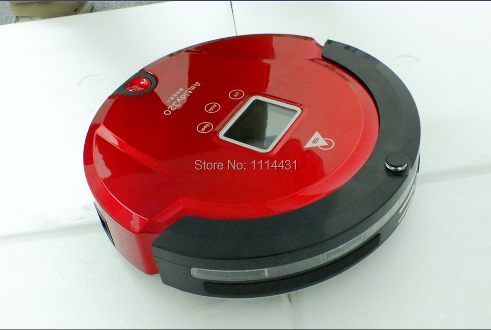 (Free To Russia) The Most Popular Robot Auto Vacuum Cleaner Robot With Longest Working Time,UV Light,Schedule,Dirt Detection(China (Mainland))