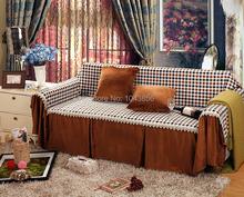 Стёганый кафе цвет один одно место микрофибра диван скольжение крышка диван мебель протектор