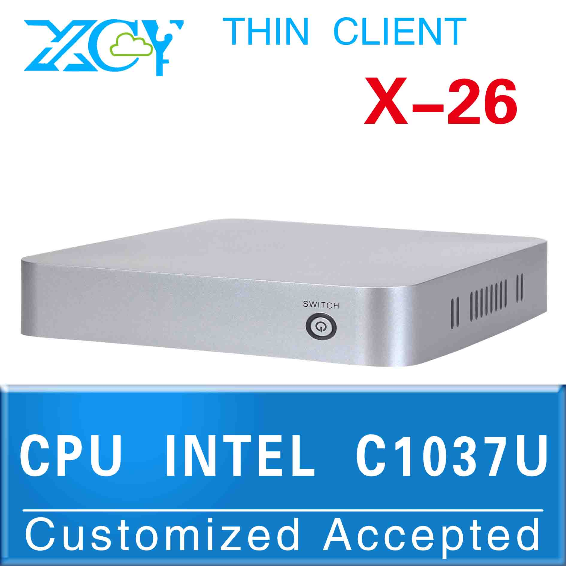 High performance mini pc 1.8GHz XCY X-26 c1037u computer linux computer ubuntu support Bluetooth embedded Audio(China (Mainland))