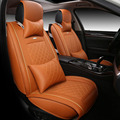 High quality special Leather Car Seat cover For Fiat Uno Palio Linea Punto Bravo 500 Panda
