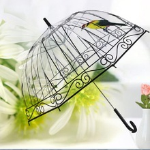 8K Transparent Umbrella Parasol Beach Vault Guarda Chuva Parapluie Umbrella Rain Women Paraguas Sombrillas Para el sol Sombrilla(China (Mainland))