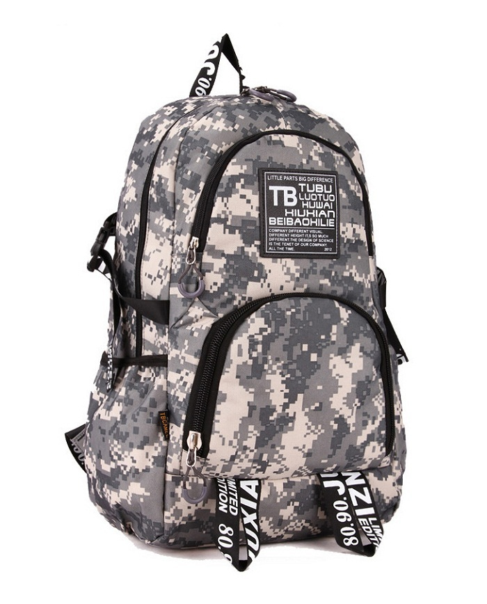 New 2016 Canvas Camouflage Men s Backpack Outdoor Casual Backpacks Laptop Bag Camping Hiking Backpacks Travel