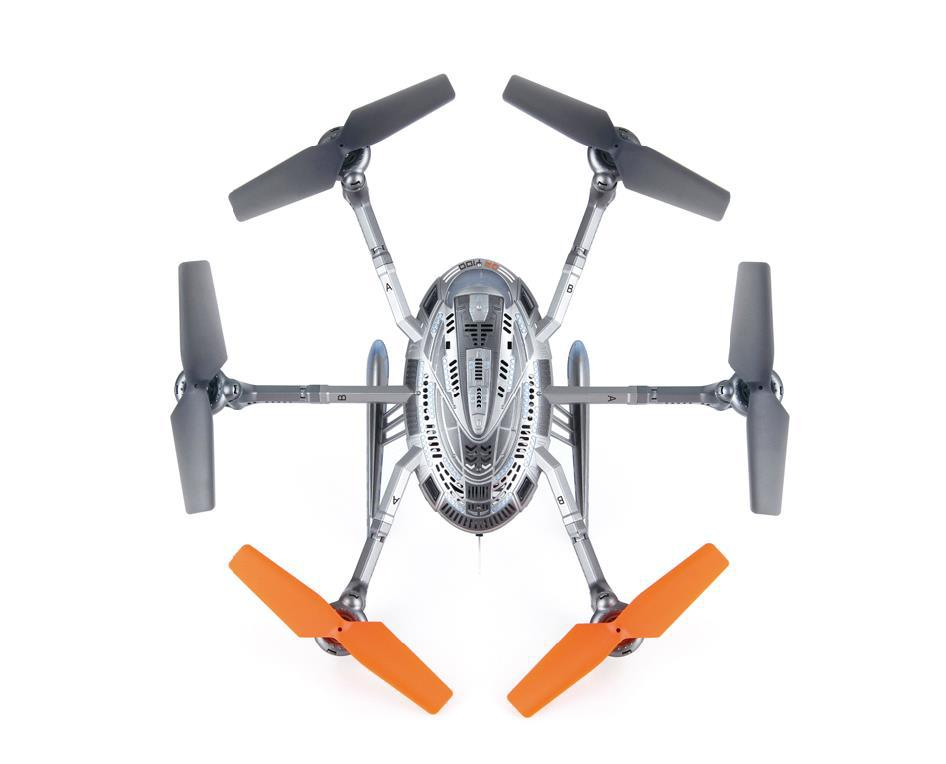 Original Walkera QR Y100 5 8Ghz FPV Hexacopter Drone Helicopter with Camera DEVO 4 Transmitter In