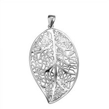 Free shipping,925 silver jewelry Pendants ,Leaf pendant,fashion jewelry Pendants .wholesale price! D051(China (Mainland))