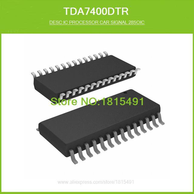 Free Shipping TDA7400DTR IC PROCESSOR CAR SIGNAL 28SOIC 7400 TDA7400 28-SO 1pcs(China (Mainland))