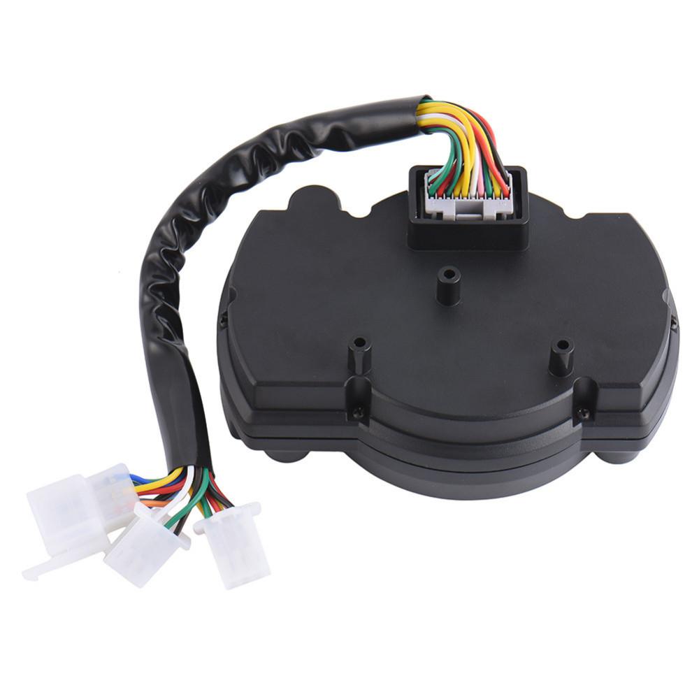 15000rpm Motorcycle Universal LCD Digital Speedometer Odometer Tachometer Motorbike Fuel Meter Water Temperature Gauge
