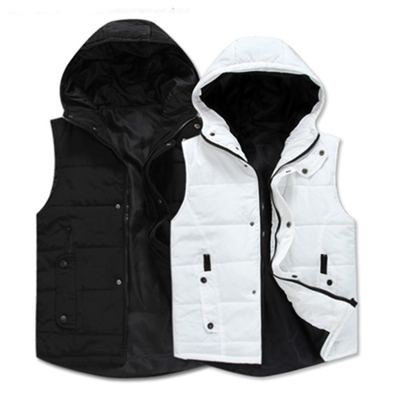 Free shipping Men's Spring and Autumn new cotton vest Fashionable casual jacket waistcoat vest thicker Korean(China (Mainland))
