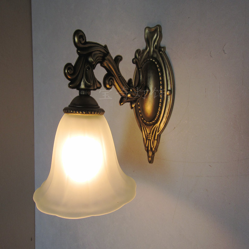 Antique Bedroom Wall Sconces : Fashion-vintage-wall-lamp-antique-iron-lamp-bedroom-bedside-lamp-fashion-mirror-cabinet-lamp ...