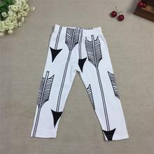 #24# 2016 New Suittop Brand Baby Boys Girls Long Pants Boys Autumn Trousers Kids Cute Arrow Deer Print Leggings(China (Mainland))