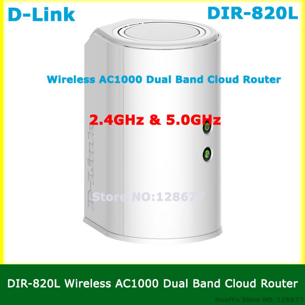 NEW DIR-820L Wireless AC1000 Dual Band Cloud Router 2.4GHz & 5.0GHz Wi-Fi Speeds DLink home network WiFi Repeater with USB Port(China (Mainland))