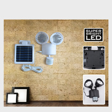 Solar motion sensor light PIR outdoor lighting emergency lamp 22 led solar gardent lights waterproof IP65
