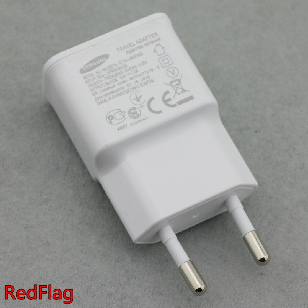 1 EU Plug Travel Chargers AC Power USB Wall Home Adapter 2A Samsung Galaxy S3 S2 N7100 I9500 I9300 I9220 Universal - Make High Store store