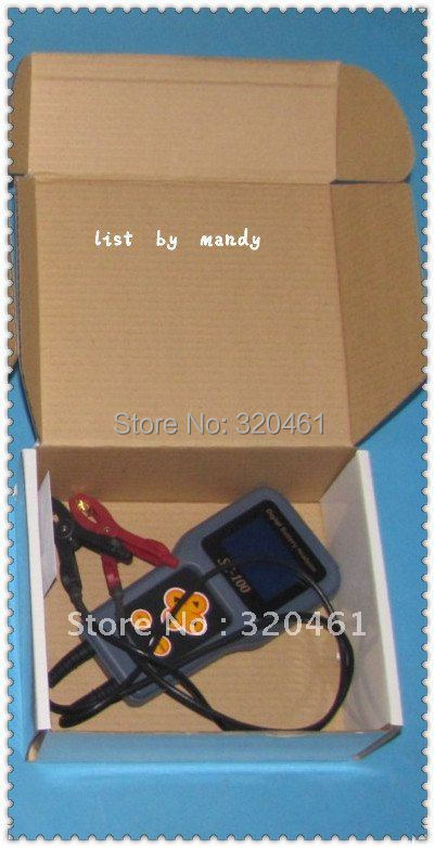 2016 discount---MST8000+ digital battery tester check battery status-- list by mandy without printer(China (Mainland))