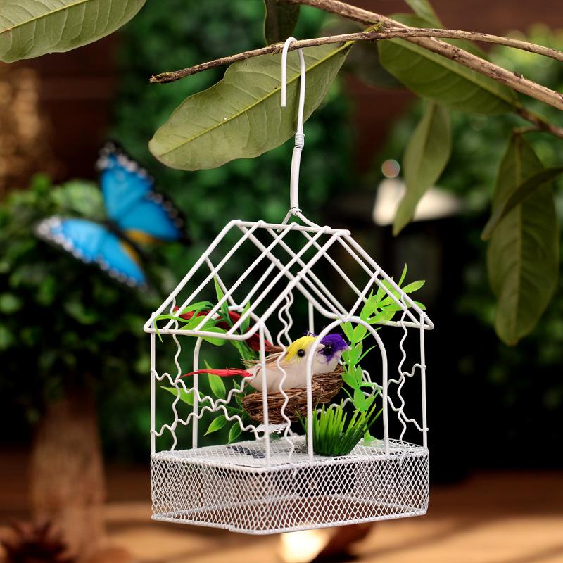 Online kopen wholesale metalen tuin dieren uit china metalen tuin dieren groothandel - Decoratie kooi ...