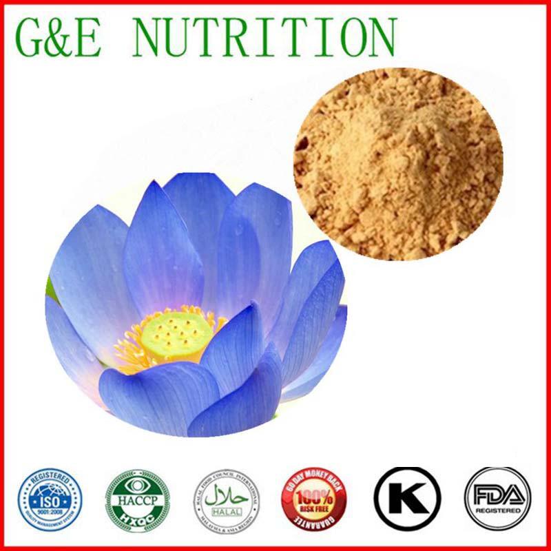 Natural Blue Lotus Extract powder     20:1 600g