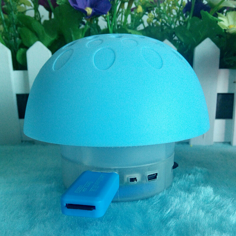 Hot Sale 2 PCS Cute Mini Wireless Mushroom Spearker Bluetooth Portable Speakers for Smart Phone laptop tablet(China (Mainland))