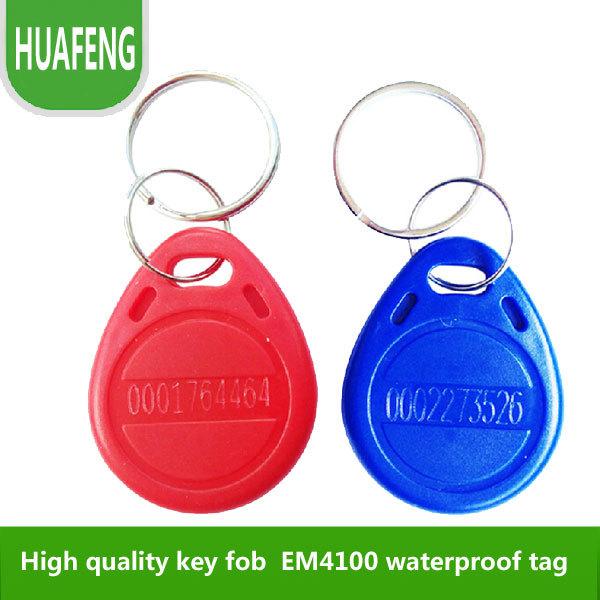 EM card key fob 125kHz,shape card,keyfob tags ,em tag, min:2500pcs(China (Mainland))