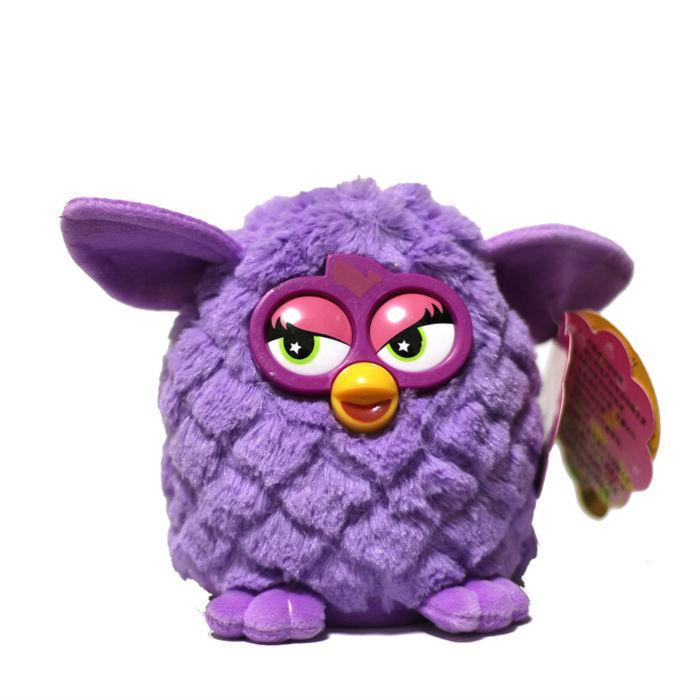 New Electronic Toys phoebe 7 Color Electric Pets Owl Elves Plush toys Recording Talking Toys Christmas Gifts with Furbiness boom(China (Mainland))