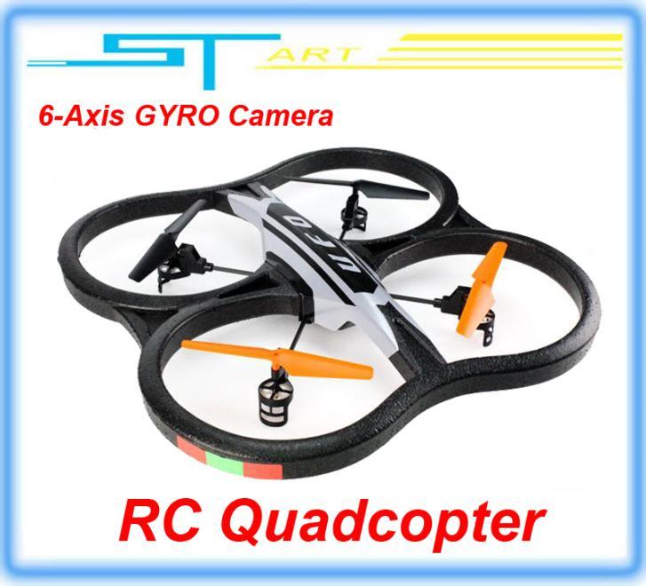 51CM Biggest 2.4G 4.5CH With Camera 6-Axis RC Quadcopter 2.0 VS V262 V959 UDI U818A Quad Copter Helico girl toy(China (Mainland))