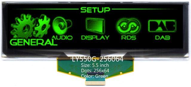 oled 5.5 inch 256x64 oled display oled module