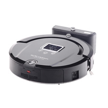 (Free Shipping To Brazil By EMS)Newest Robot Vacuum Cleaner Long Working Time And Sonic Wall Low Noise(China (Mainland))