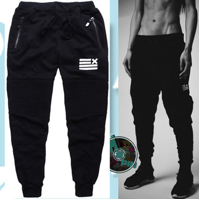 2015 New Arrive Hip Hop Mens Harem Pants Sport Jogging Sweatpants Trousers Gymshark Designer Men Jogger Pants Free Shipping(China (Mainland))
