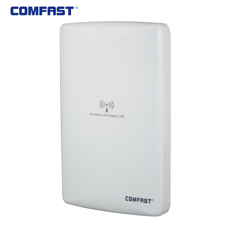 Фотография 300Mbps Outdoor POE 2 rj45 High Power Long Range Wireless wi fi N CPE WIFI Router Repeater Bridge AP router Access Point Wi-fi