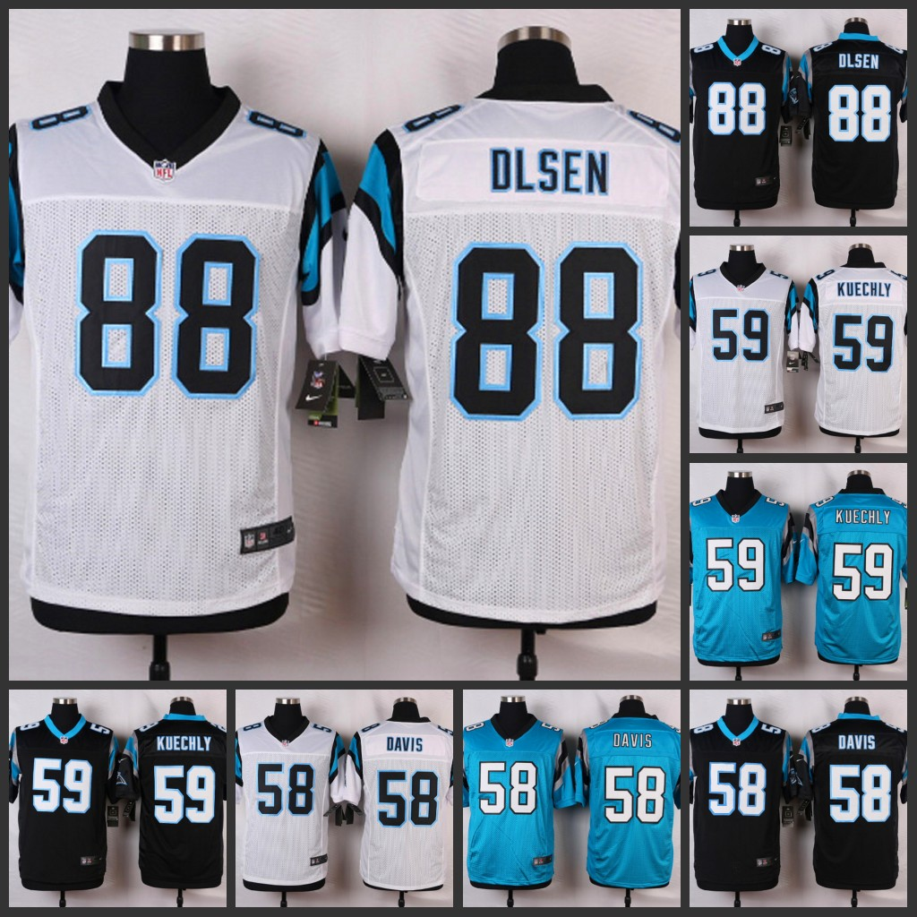 ELITE Carolina Panthers Luke Kuechly Jerseys