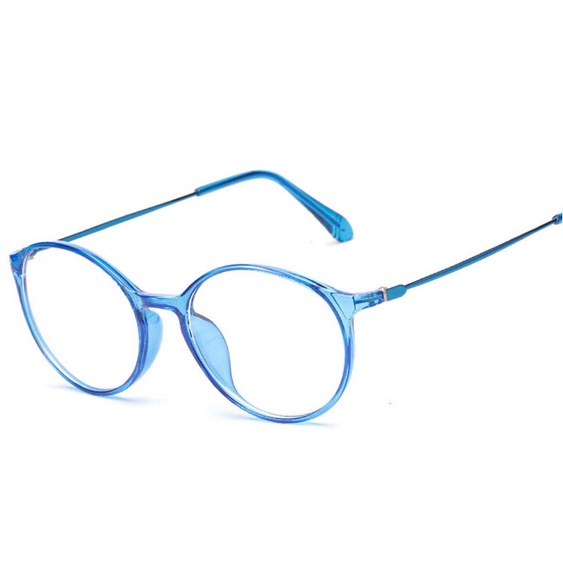 Are Plastic Eyeglass Frames In Style : Aliexpress.com : Buy Fashion Women Round Frame Glasses ...