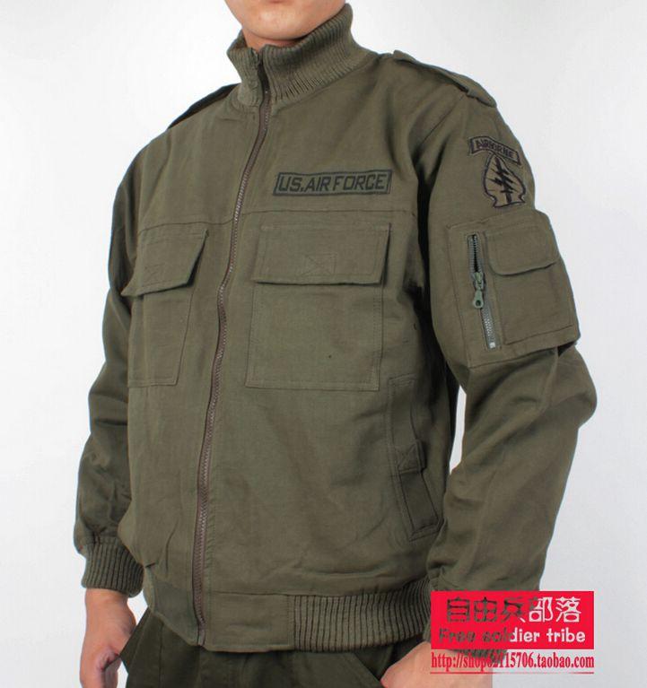 Здесь можно купить  Mens Jackets 2015 Spring Autumn 100% Cotton Military Outwear Men