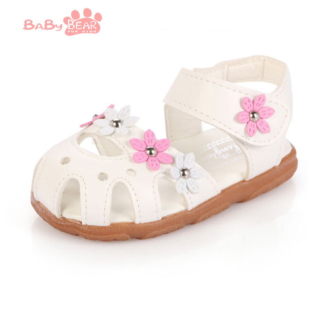 Бесплатная доставка 2016 летние девушки дети мода сандалии детей подходит обувь pu ...