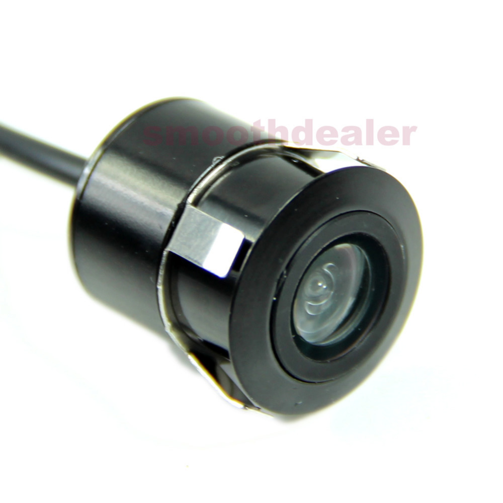W110Free Shipping 1PC Mini 18.5mm CCD CMOS Car Rear View Camera Reverse Parking Reariew Vehicle New(China (Mainland))