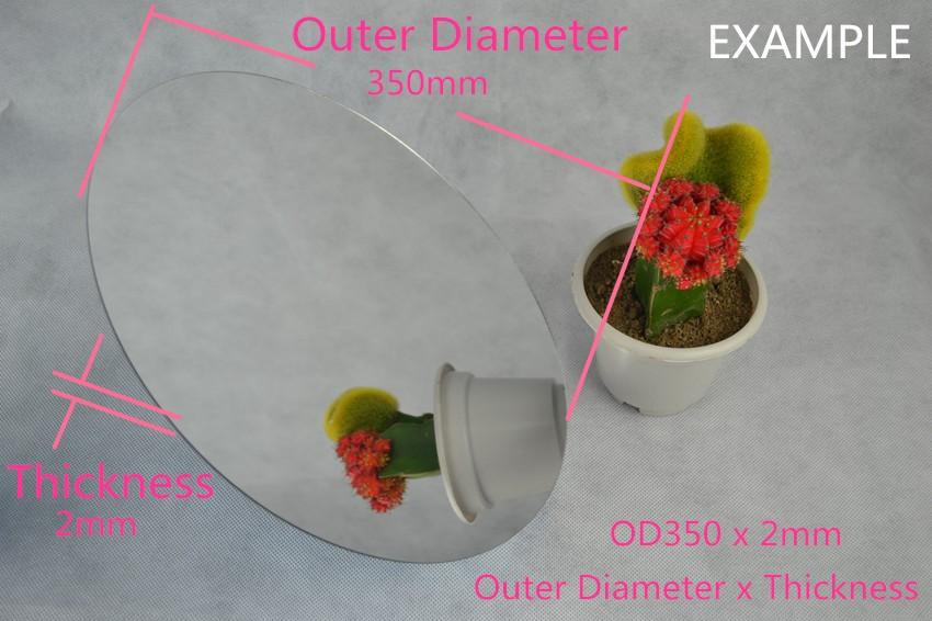 5 THZ Acrylic Pleixglass Round Mirror (2)