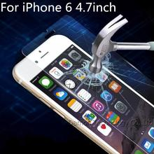 New 2.5D Premium Tempered Glass Screen Film for iPhone 6 4.7 Anti-shatter Glass Screen Protector With Retail Package