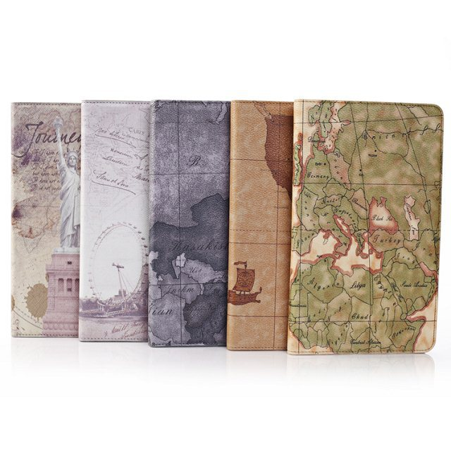 The Maps of World Pattern 8.4inch Tablet PC Cover Case For Samsung Galaxy Tab Pro 8.4 T320(China (Mainland))