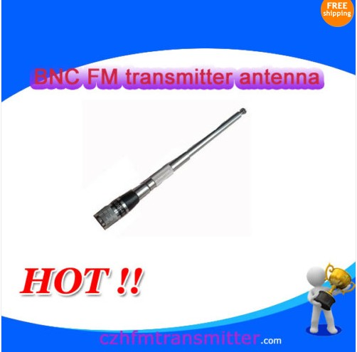 FM Transmitter broadcast short Antenna BNC wholesale 88Mhz-108Mhz(China (Mainland))