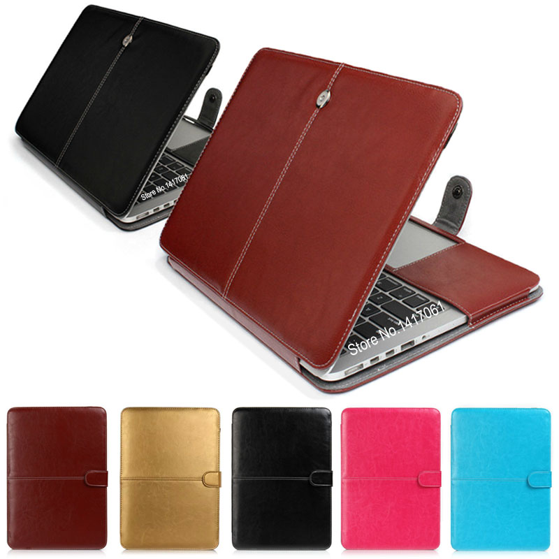 Fashion PU Leather Laptop Case For Apple Macbook Pro Air ...