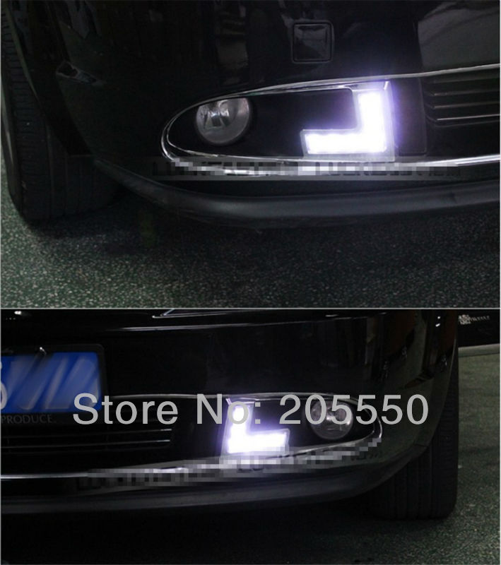 Free shipping car-specific LED daytime running light frong fog lamp headlight led drl for dodge JCUV Journey high quality(China (Mainland))