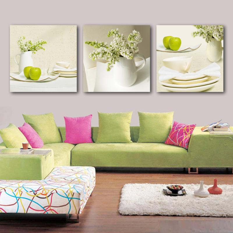 Cheap Modern Flower Oil Painting On Canvas Posters And Prints Wall Art
